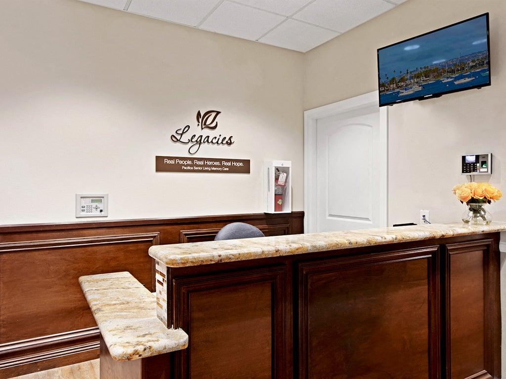 Large Leasing Office at Pacifica Senior Living, Sakura Gardens of Los Angeles, Los Angeles