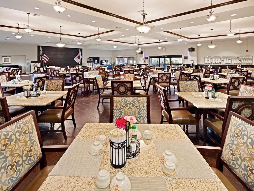 Restaurant Style Dining at Pacifica Senior Living, Sakura Gardens of Los Angeles, California, 90033