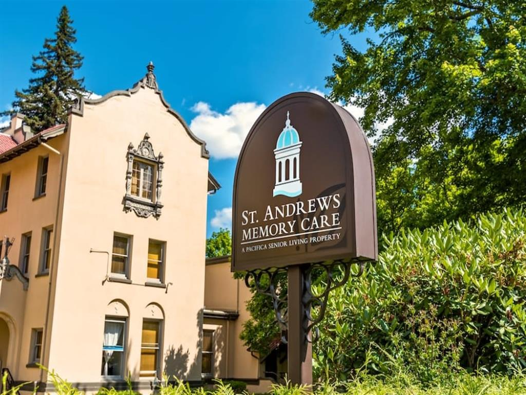 Access Controlled Community at St. Andrews Memory Care, Portland, Oregon