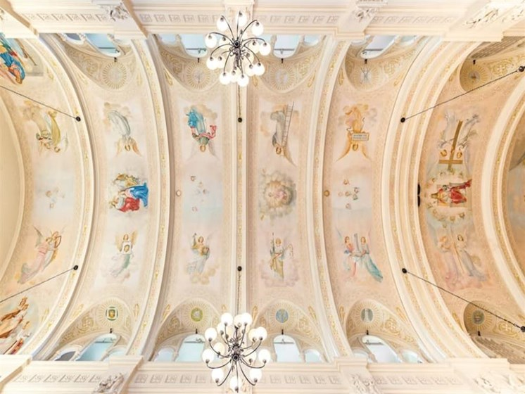 Chapel Ceiling at St. Andrews Memory Care, Oregon