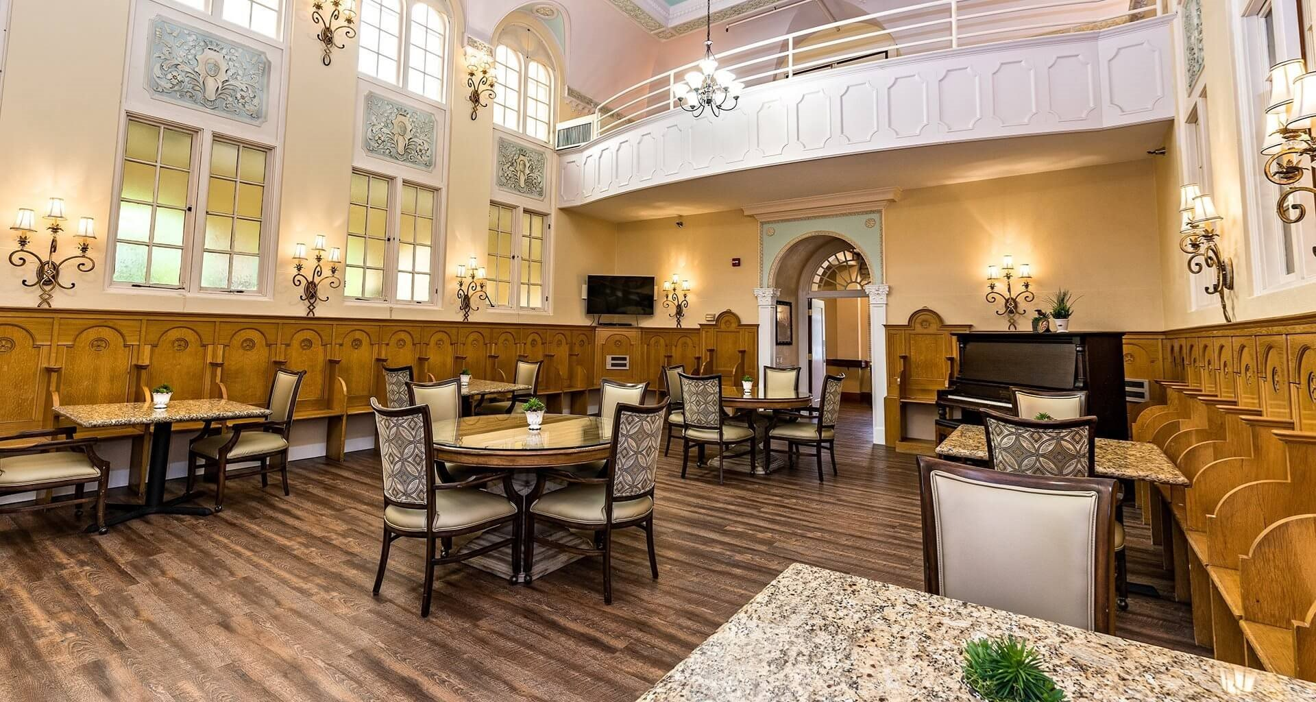 Indoor Common Areas at St. Andrews Memory Care, Portland