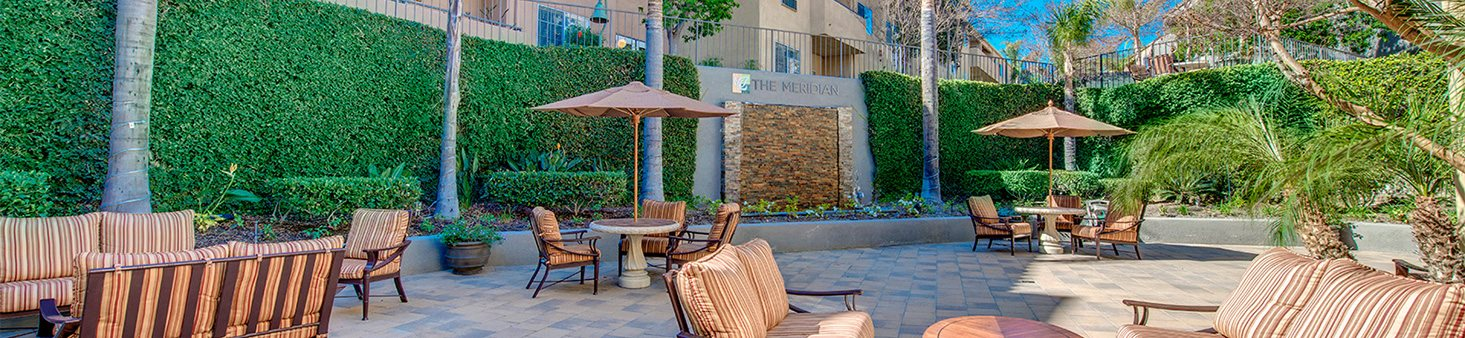 Spacious areas at Meridian at Anaheim Hills, Anaheim Hills