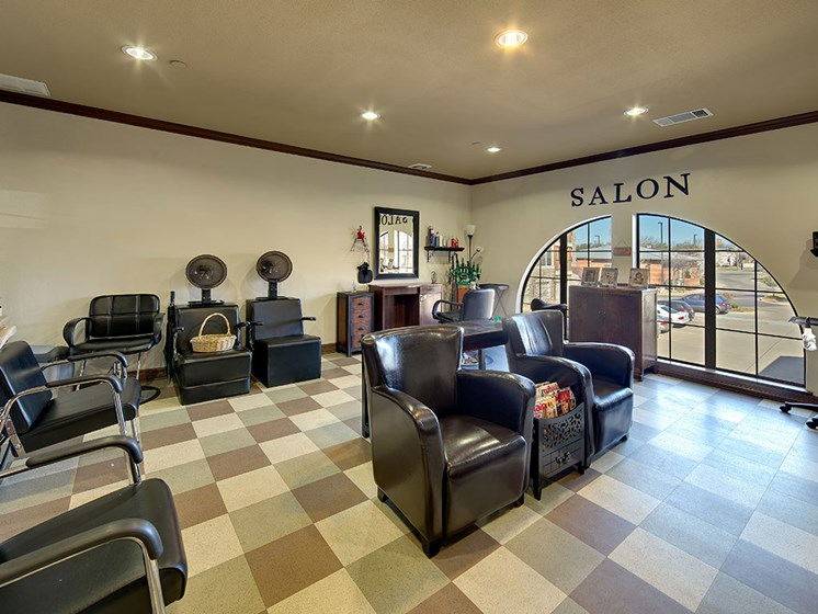 Elderly Styling Salon at Meridian at Kessler Park, Dallas, TX, 75211