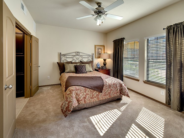 55+ Well Appointed Bedroom at Meridian at Kessler Park, Dallas, TX