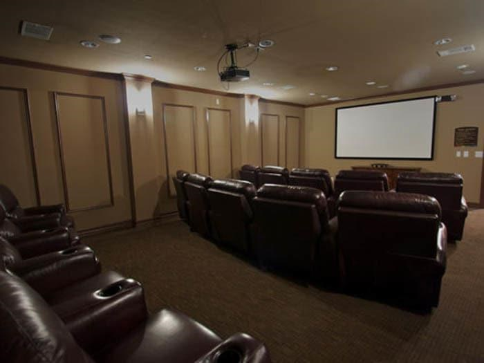 Movie Theater at Meridian at Kessler Park, TX