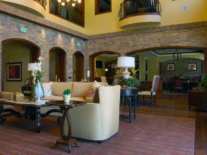 Opulent Great Room at The Meridian at Lake San Marcos in San Marcos, CA