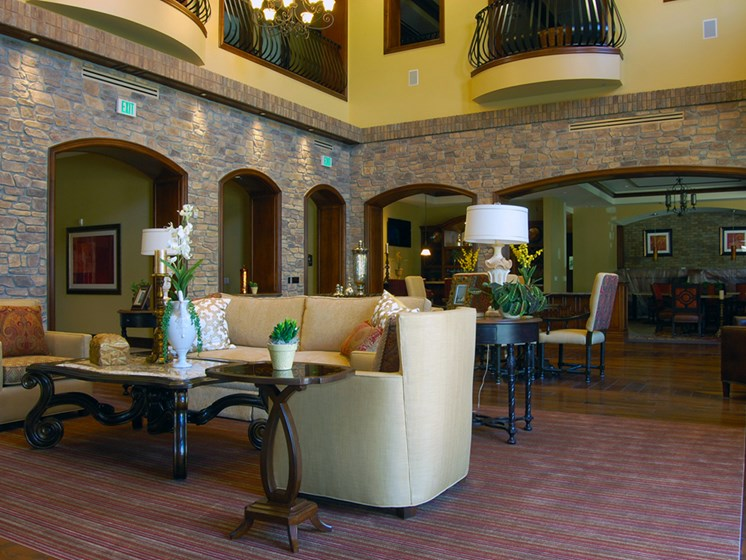Opulent Great Room at Meridian at Lake San Marcos in San Marcos, CA