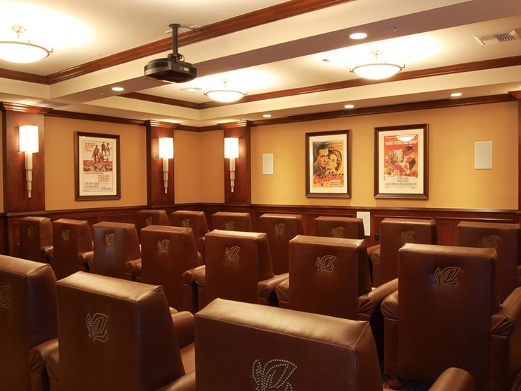 Private Movie Theater at Meridian at Lake San Marcos in San Marcos, CA