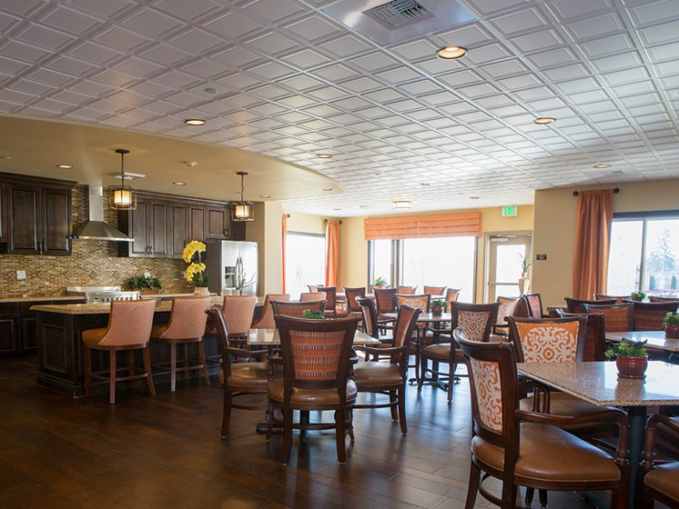 Fully Equipped Dining Area at Meridian at Stone Creek, Milton