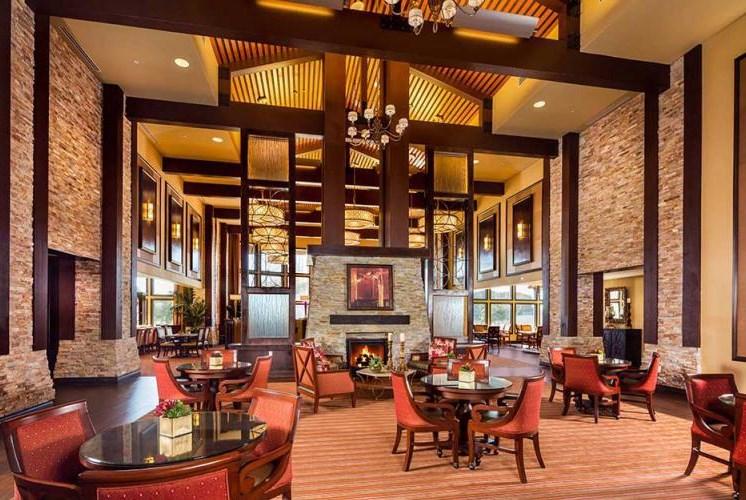 Sophisticated Lounge Design at Meridian at Stone Creek, Washington