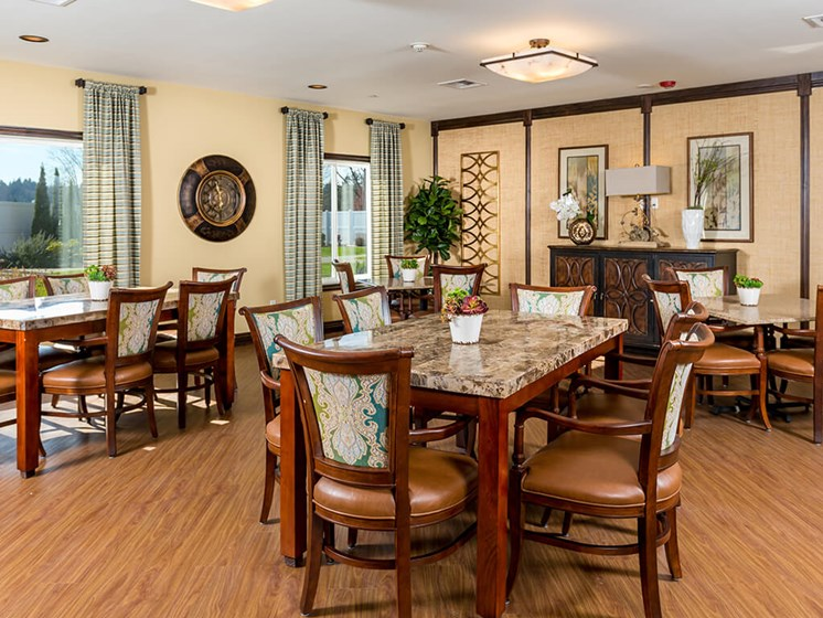 Gorgeous Activity Room for Hobbies and Clubs at Meridian at Stone Creek, Washington, 98003