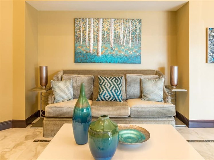Luxurious Interior Decor at Meridian at Westwood, Florida