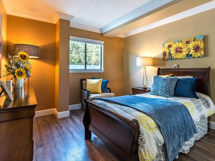 Comfortable Bedroom at Meridian at Westwood, Fort Walton Beach, Florida