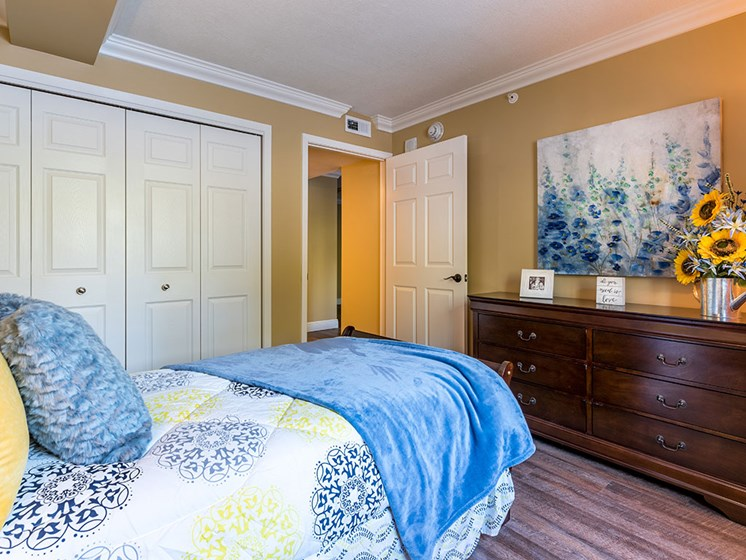 Comfortable Bedroom With Large Closet at Meridian at Westwood, Fort Walton Beach