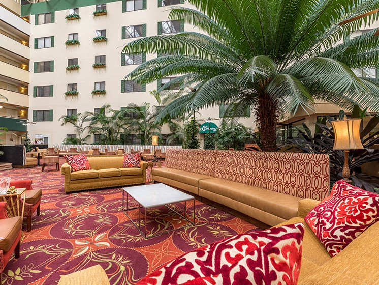Carpeted Lounge Area at Meridian at Westwood, Fort Walton Beach, FL, 32547