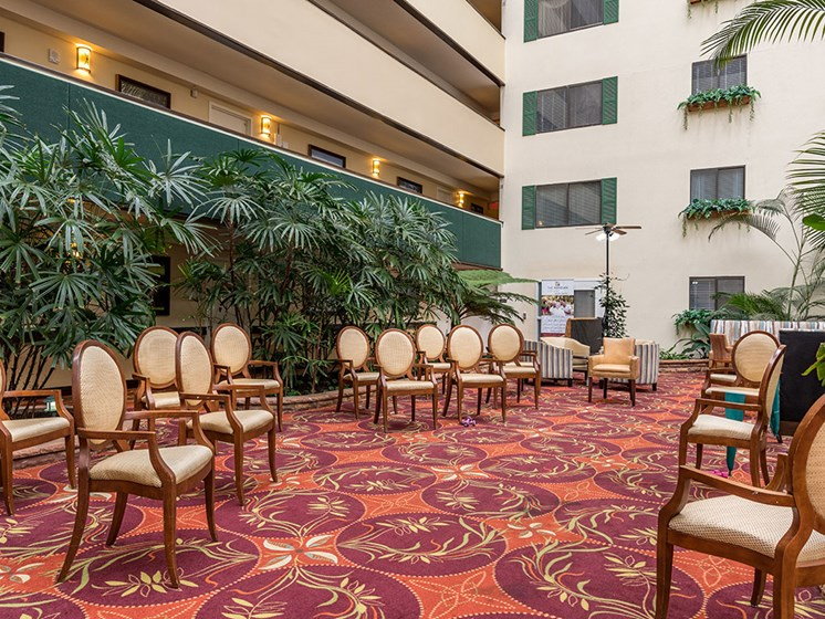 Resident Lounge Area at Meridian at Westwood, Fort Walton Beach, FL, 32547