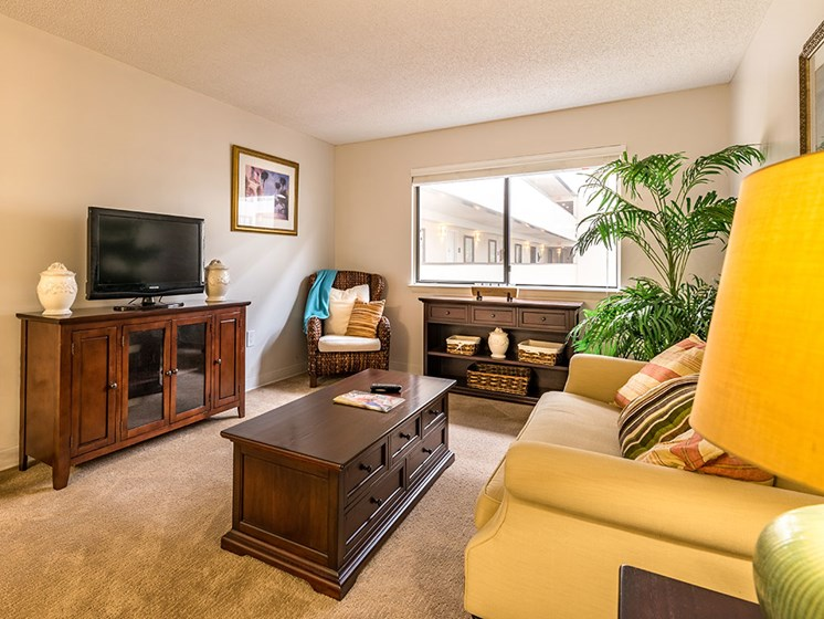 Bright Living Room at Meridian at Westwood, Fort Walton Beach