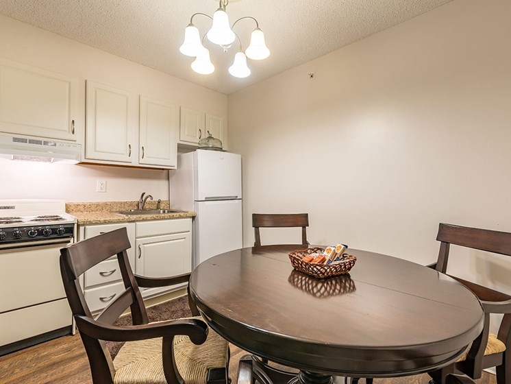 Well Equipped Kitchen And Dining at Meridian at Westwood, Florida, 32547