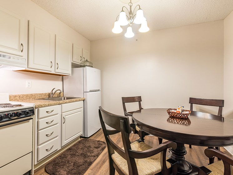Well Equipped Kitchen And Dining at Meridian at Westwood, Fort Walton Beach, FL