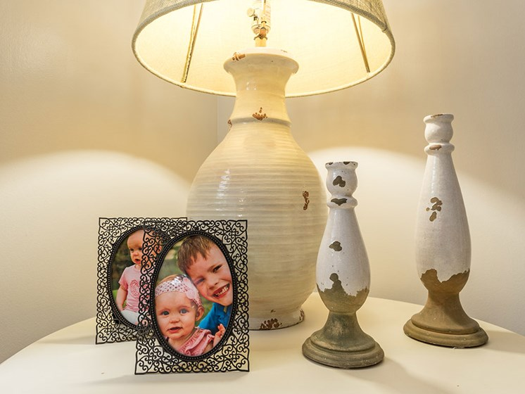 Night Lamp with Photo Frame at Meridian at Westwood, Fort Walton Beach, FL, 32547