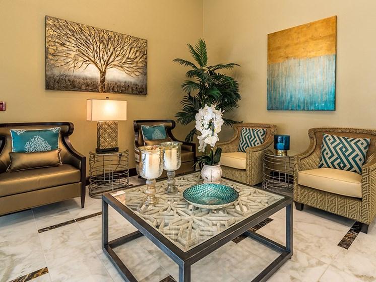 Entrance Lounge at Meridian at Westwood, Fort Walton Beach, FL