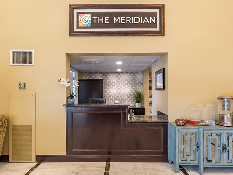 Leasing Office at Meridian at Westwood, Florida