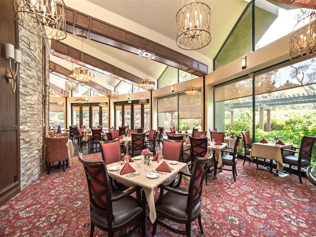Beautiful clubhouse at The Park Lane in Monterey, California