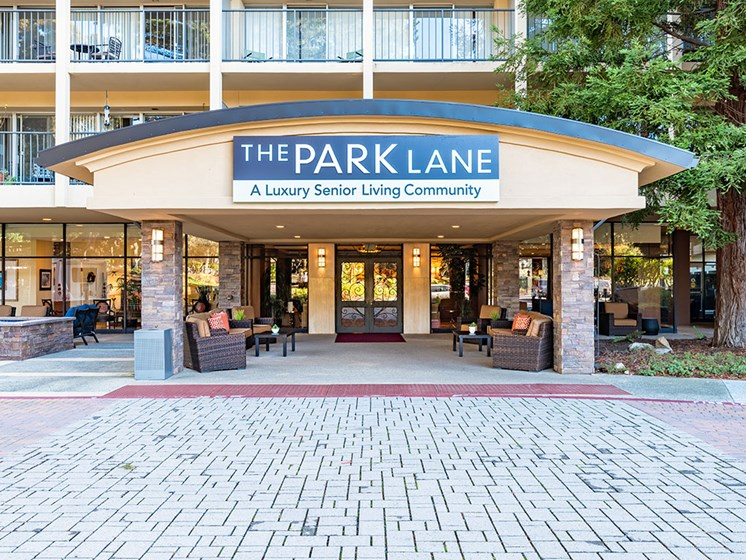 Entry Gate To The Property at Pacifica Senior LIving, The Park Lane, Monterey, 93940