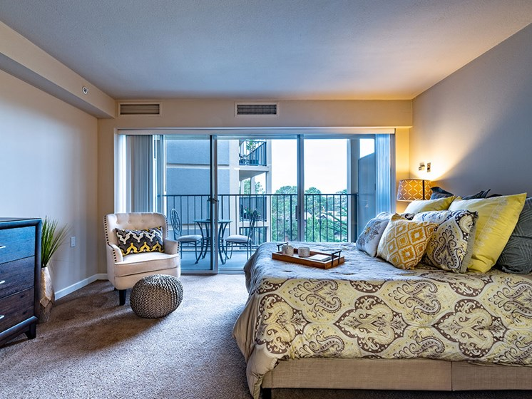 Living With Expansive Windows at Pacifica Senior LIving, The Park Lane, Monterey, California