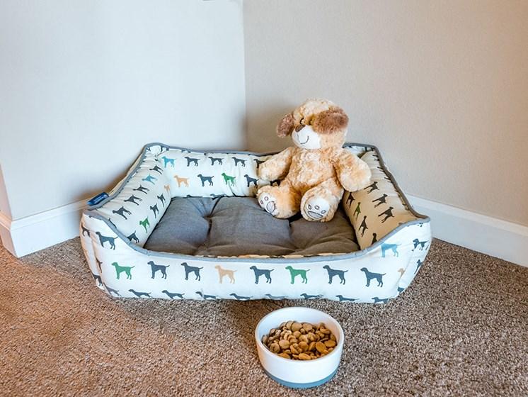 Small teddy Bear at Pacifica Senior LIving, The Park Lane, Monterey, CA, 93940