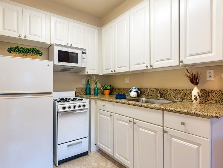Kitchen Appliances at The Park Lane, Monterey, 93940, Pacifica Senior Living