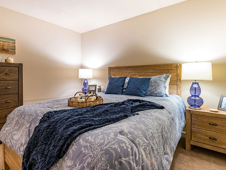 Classic Bedroom at Pacifica Senior LIving, The Park Lane, Monterey, CA