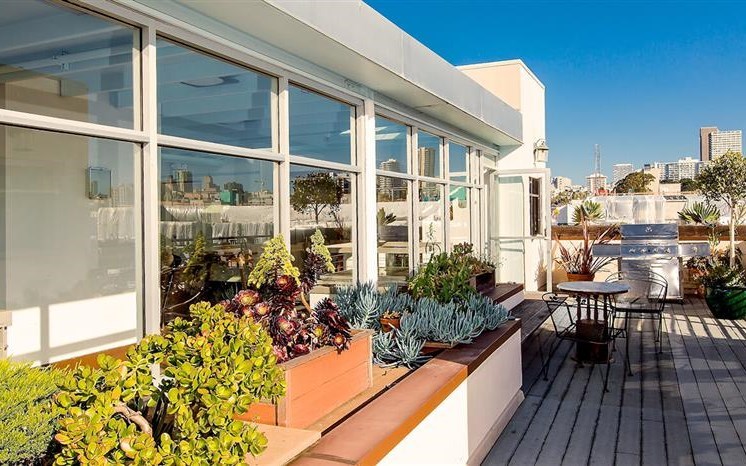 Spacious Balcony With Plenty of Natural Light at The Village at Hayes Valley, California, 94102