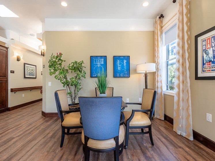 Ample Sitting Space In Clubhouse,at The Village at Hayes Valley, California
