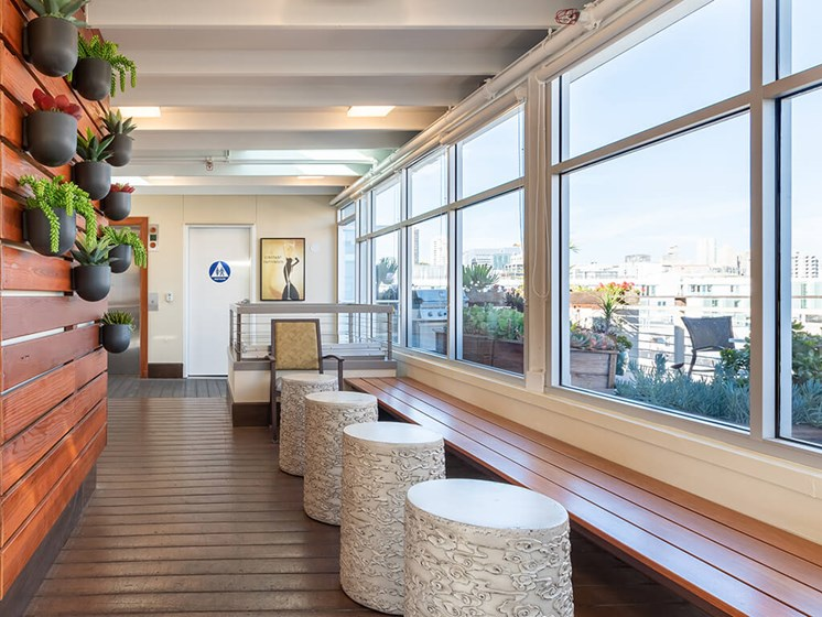 Newly Renovated Clubhouse,at The Village at Hayes Valley, San Francisco, 94102