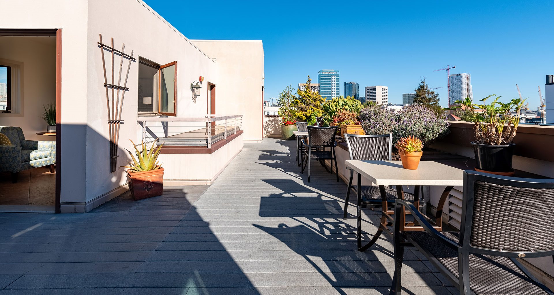 Rooftop Patio And Garden at The Village at Hayes Valley, San Francisco, 94102