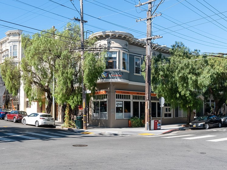 Great Dining Options Nearby at The Village at Hayes Valley, California