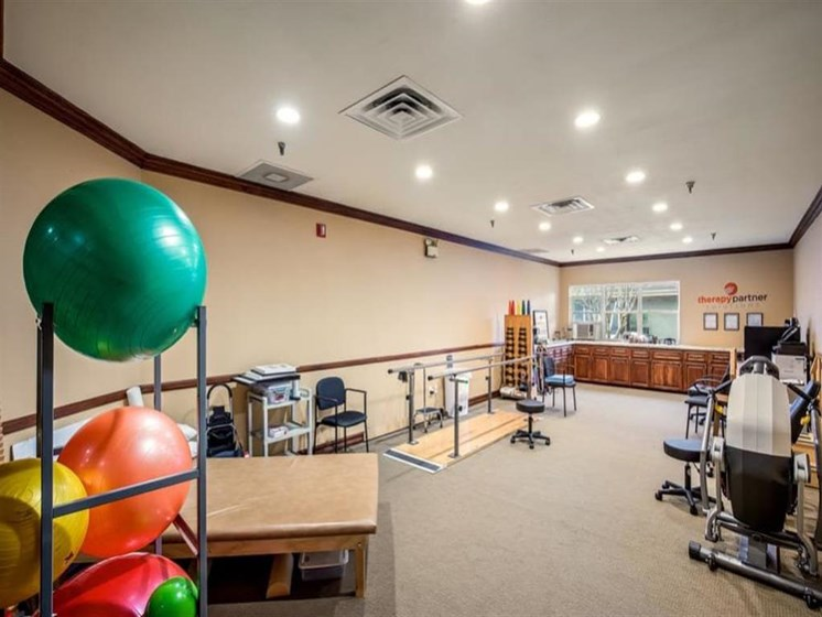 Beautiful fitness center at Wyndham Lakes in Jacksonville, FL