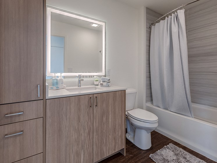 Elara At The Market - Apartment Master Bathroom