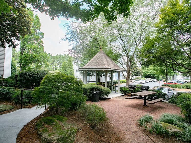 Garden with a Gazebo at The Prato at Midtown, Atlanta, 30308
