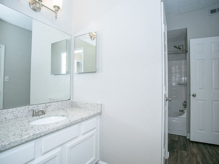 Large Renovated Bathroom at The Prato at Midtown, Atlanta, GA 30308
