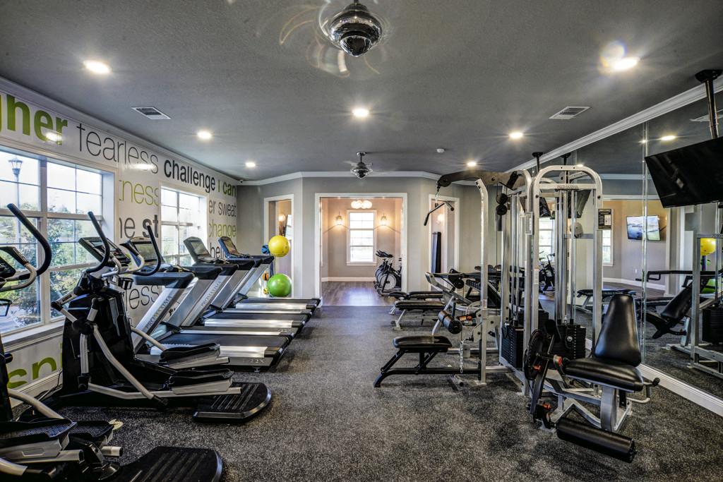 Modern Fitness Center at Century Ariva, Lakeland, Florida