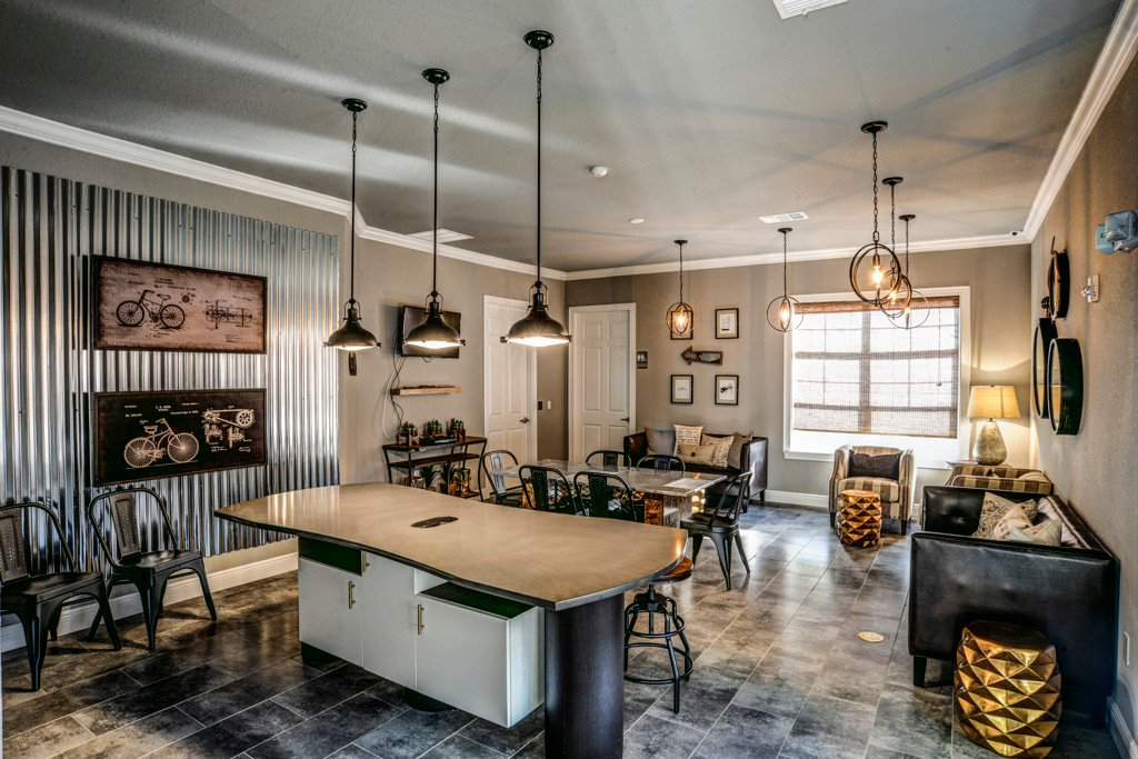 Decorated Dining Area at Century Ariva, Lakeland, Florida