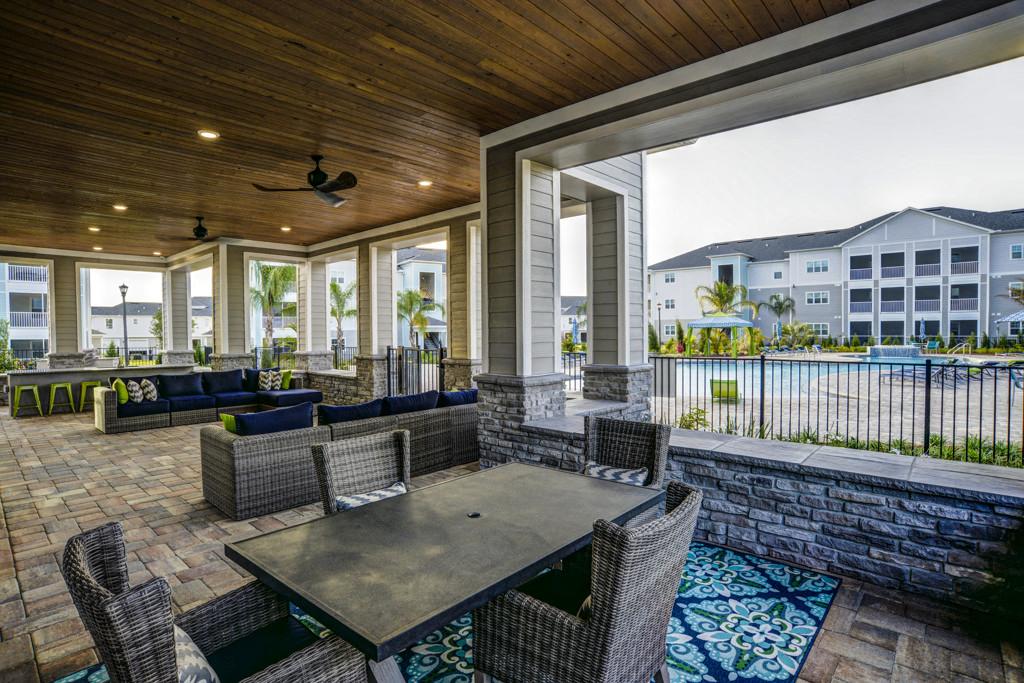 Entertainment Lounge By Pool at Century Ariva, Lakeland, FL, 33812