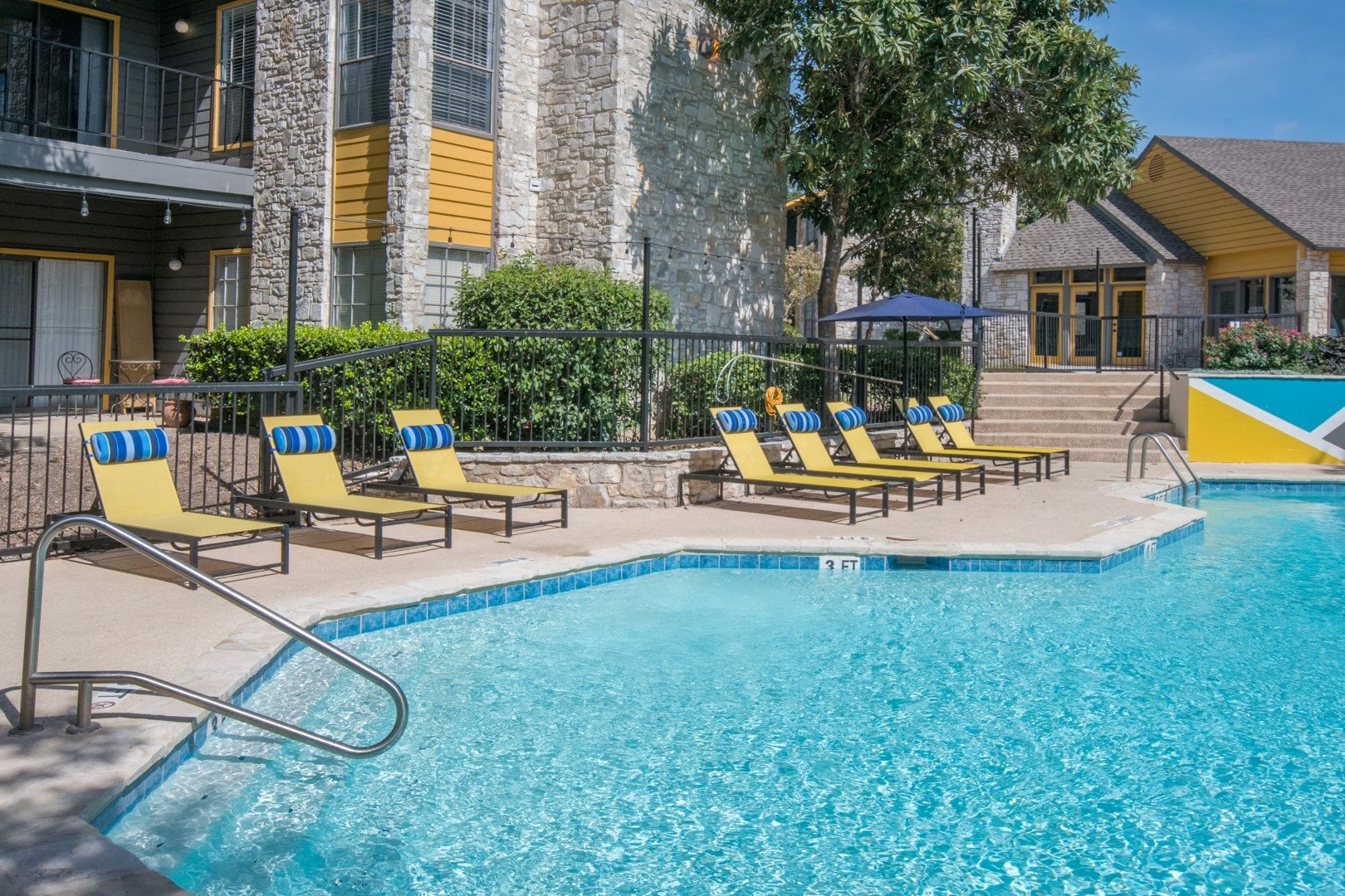 2 resort style pools in san antonio apartment
