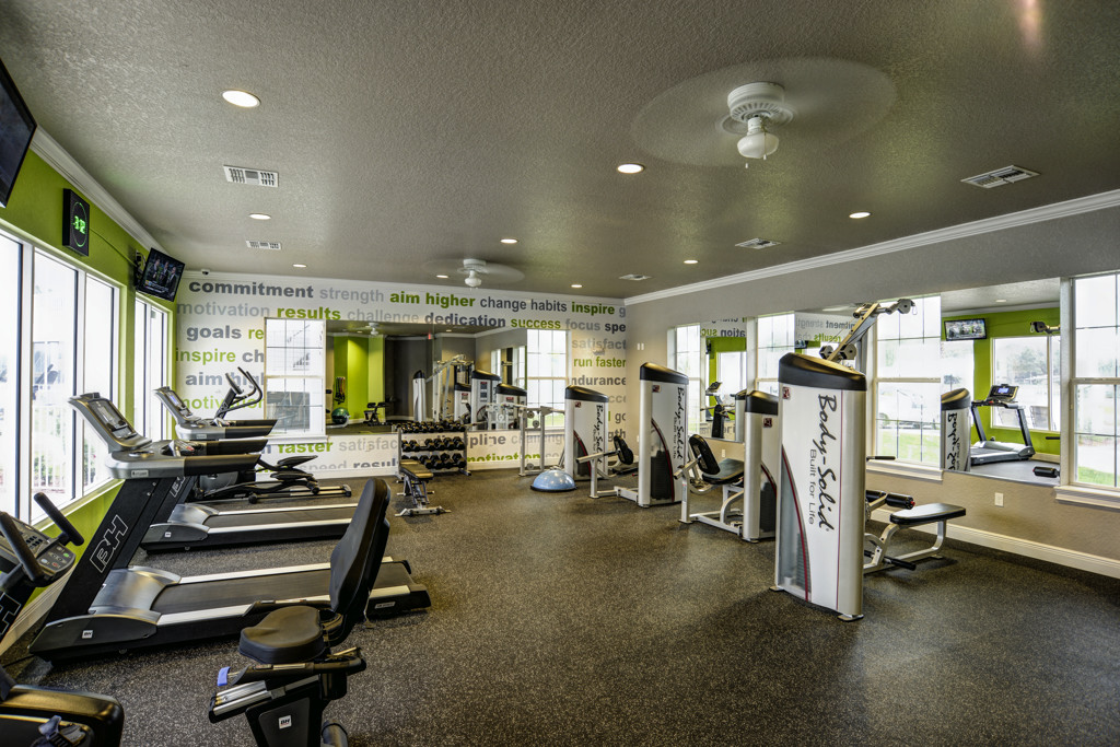 Modern Fitness Center at Century Lakehouse, Florida