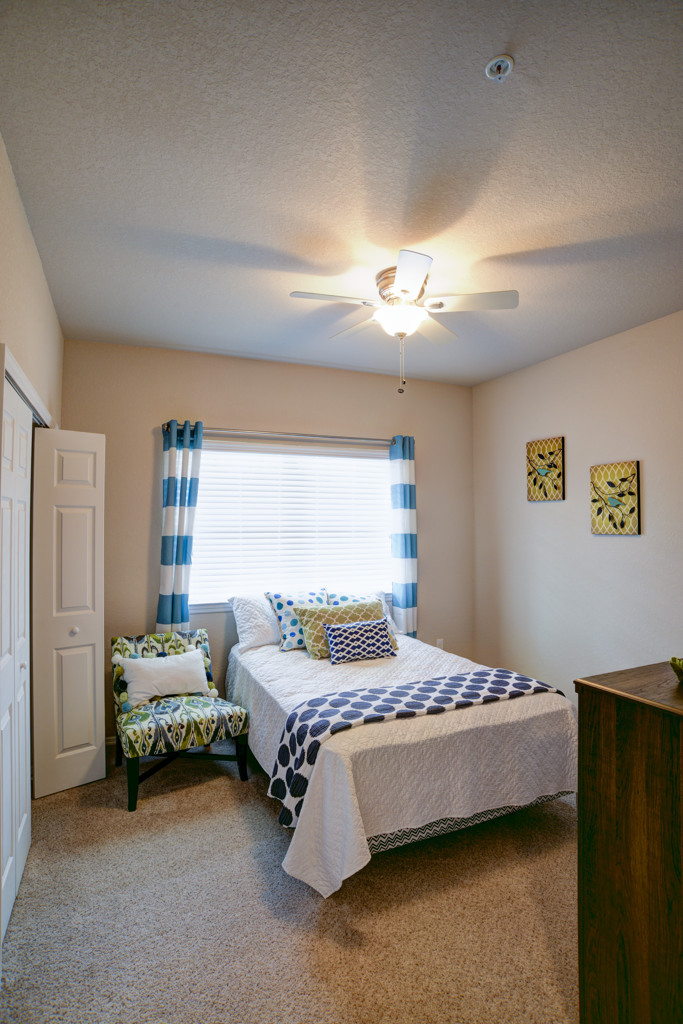 Model Guest Bedroom at Century Lakehouse, Florida, 33566
