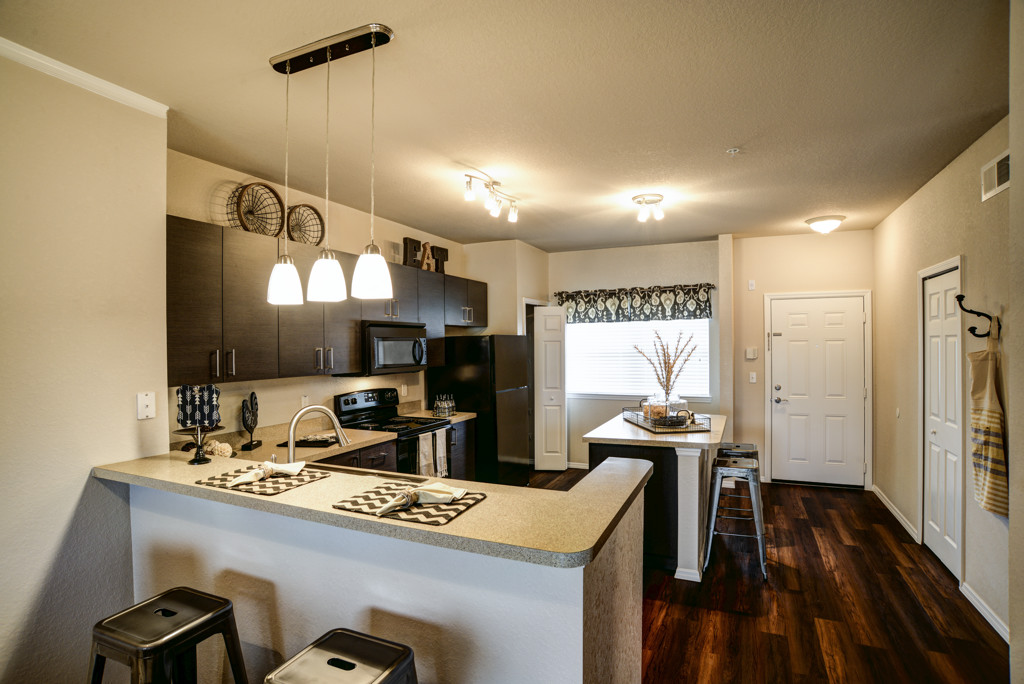 Model Kitchen and Dining room at Century Lakehouse, Plant City, FL