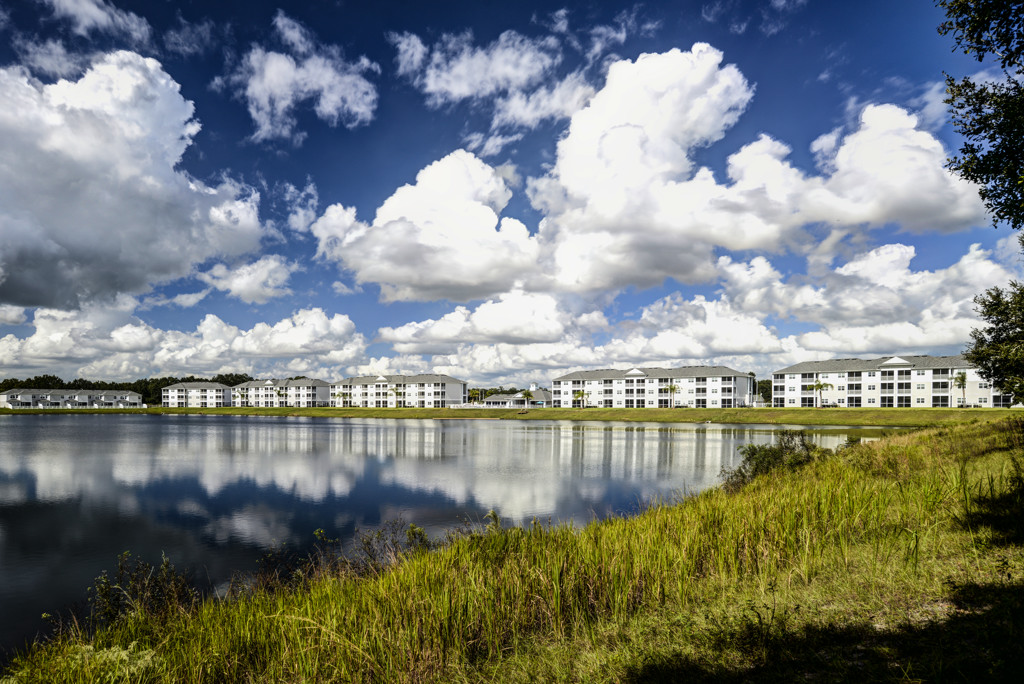 Property View from Lake at Century Lakehouse, Plant City, Florida