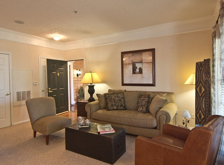 Living Area at The Orchard Apartments in Dublin OH